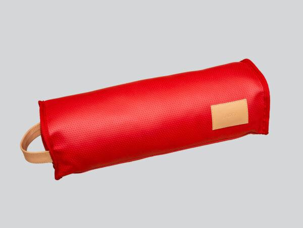 almohada nude roja